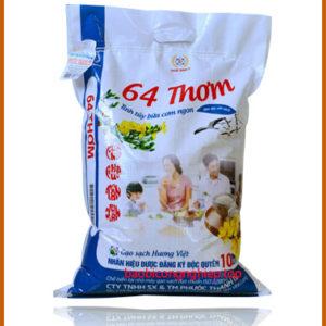 bao bì gạo 10 kg mẫu 1