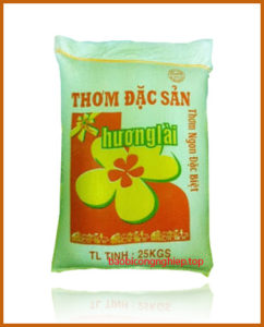 bao bì gạo 25 kg mẫu 6