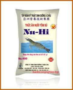 bao bì thức ăn thủy sản mẫu 6