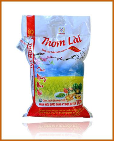 bao bì gạo 10 kg mẫu 2