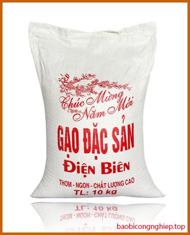 bao bì gạo 10 kg mẫu 4