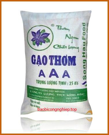 bao bì gạo 25 kg mẫu 3