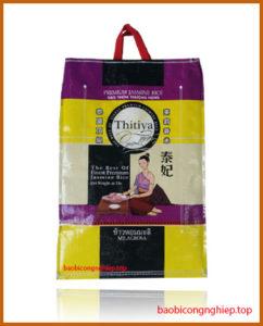 bao bì gạo 10 kg mẫu 5