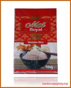 bao bì gạo 10 kg mẫu 6
