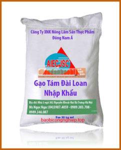 bao bì gạo 50 kg mẫu 5